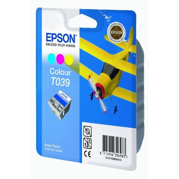 Original Epson C13T03904A10 / T039 Tintenpatrone color