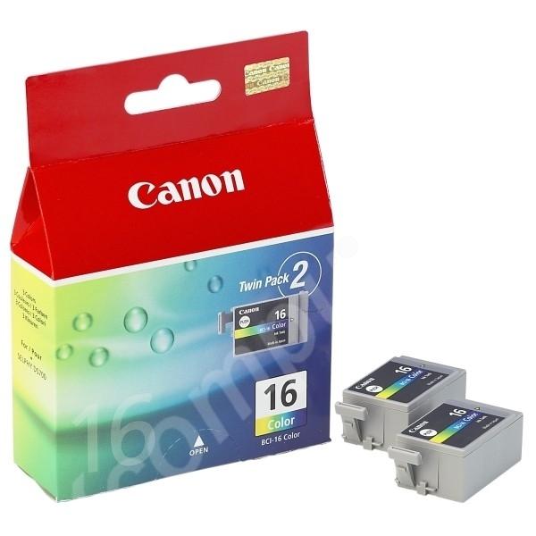 Original Canon 9818A002 / BCI16C Tintenpatrone color