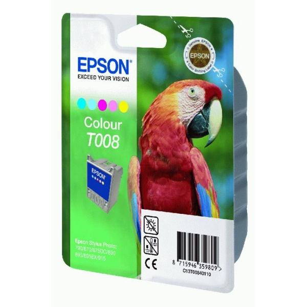 Original Epson C13T00840110 / T008 Tintenpatrone color