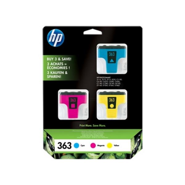 Original HP CB333EE / 363 Tintenpatrone MultiPack