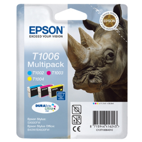 Originale Epson C13T10064010 / T1006 Cartuccia di inchiostro multi pack