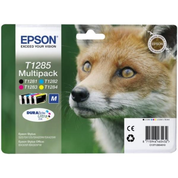 Original Epson C13T12854010 / T1285 Cartouche d'encre multi pack
