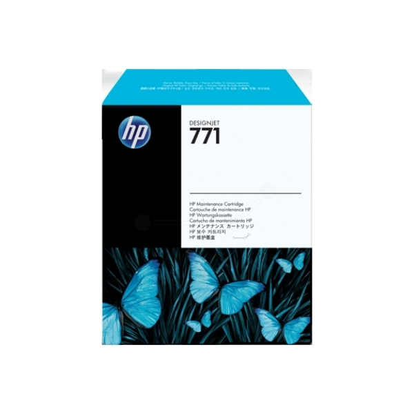 Original HP CH644A / 771 Resttintenbehälter