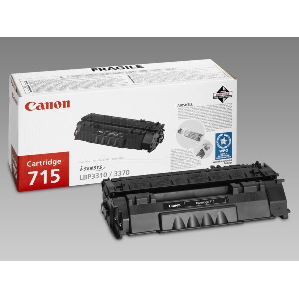 Original Canon 1975B002 / 715 Toner schwarz
