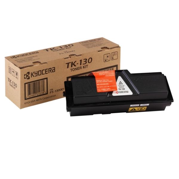 Original Kyocera 1T02HS0EU0 / TK130 Toner noir