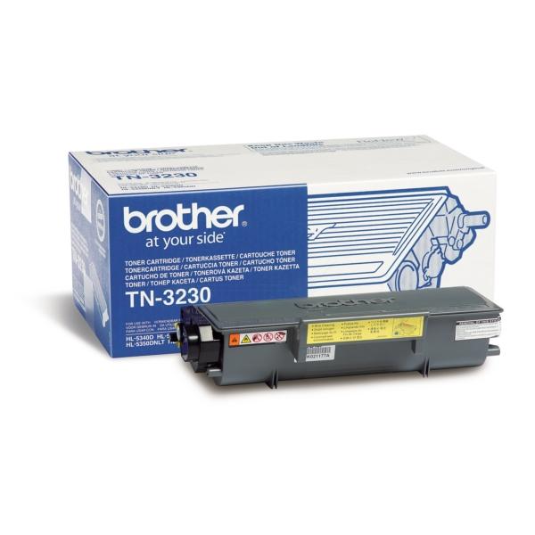 Original Brother TN3230 Tóner negro