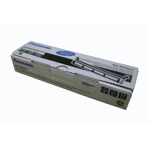 Original Panasonic KXFAT92X Toner schwarz