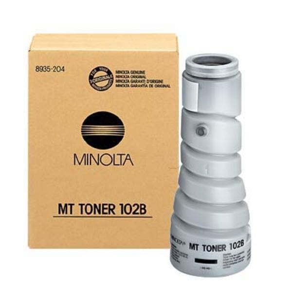 Original Konica Minolta 8935204 / 102B Toner schwarz