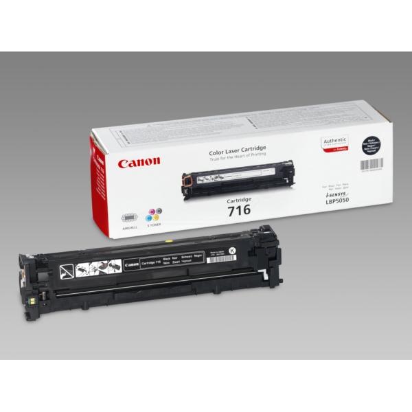 Original Canon 1980B002 / 716BK Toner noir