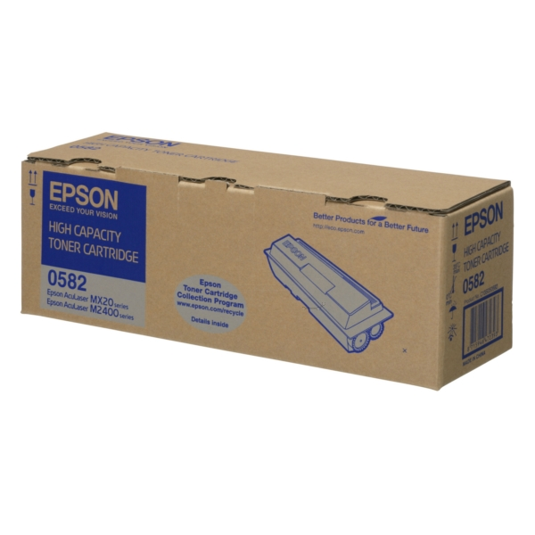 Original Epson C13S050582 / 0582 Toner schwarz