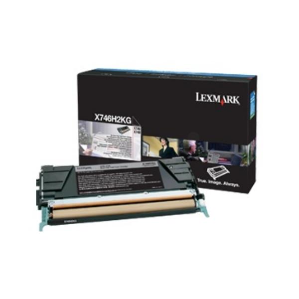 Original Lexmark X746H2KG Tóner negro