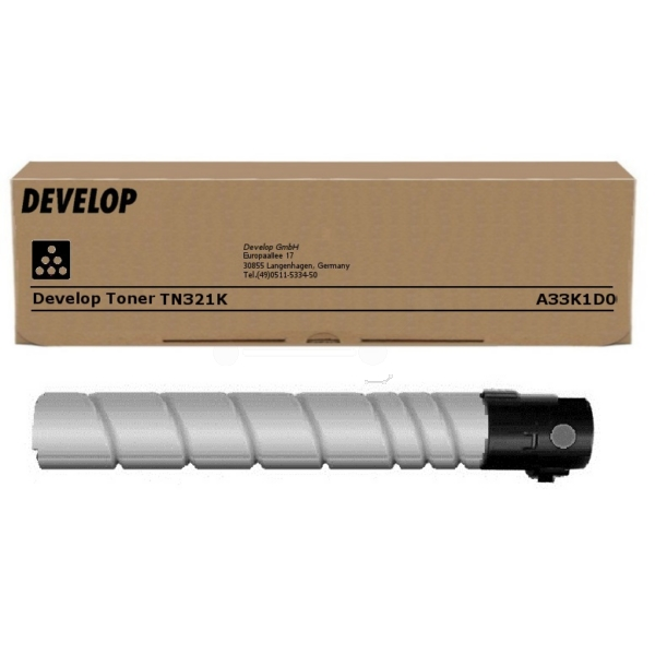 Original Develop A33K1D0 / TN321K Toner schwarz