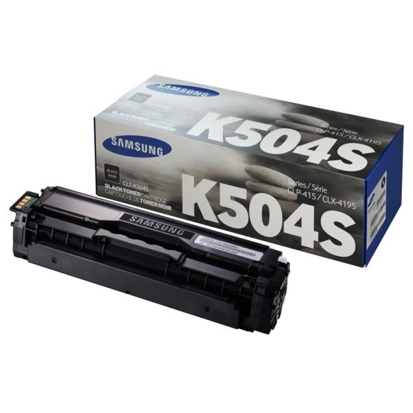 Original Samsung CLTK504SELS / K504 Toner schwarz