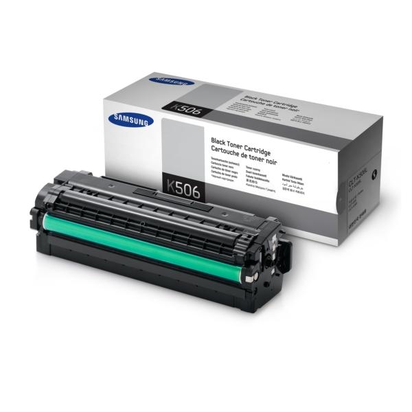 Original Samsung CLTK506SELS / K506 Toner schwarz