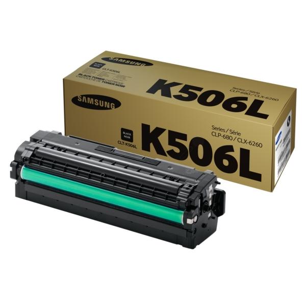 Original Samsung CLTK506LELS / K506L Toner schwarz