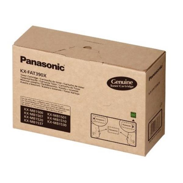 Original Panasonic KXFAT390X Toner schwarz