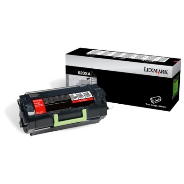 Original Lexmark 62D0XA0 / 620XA Toner schwarz