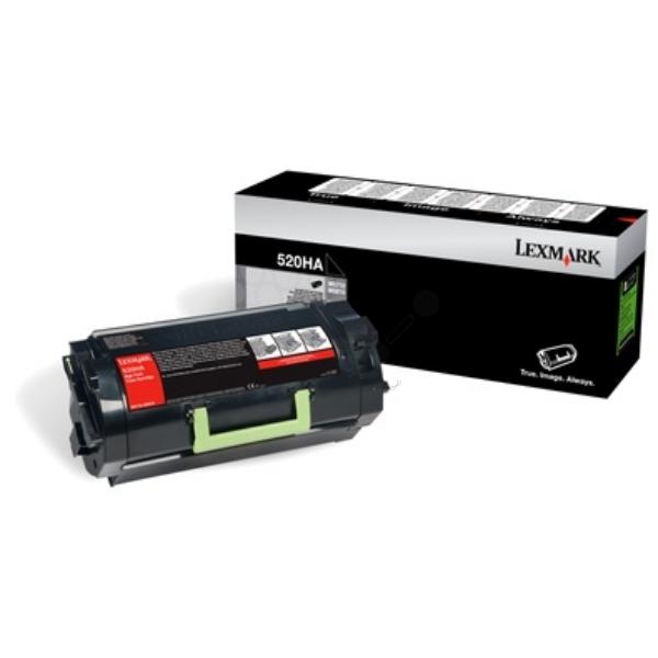 Original Lexmark 52D0HA0 / 520HA Toner schwarz