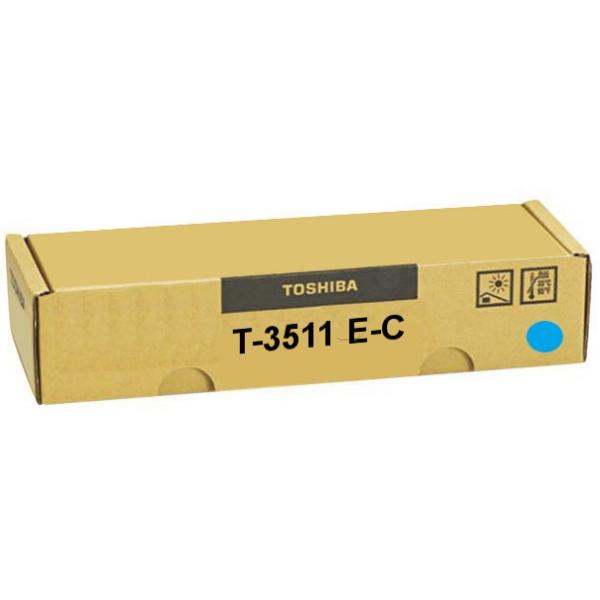 Original Toshiba 6AK00000054 / T3511EC Toner cyan