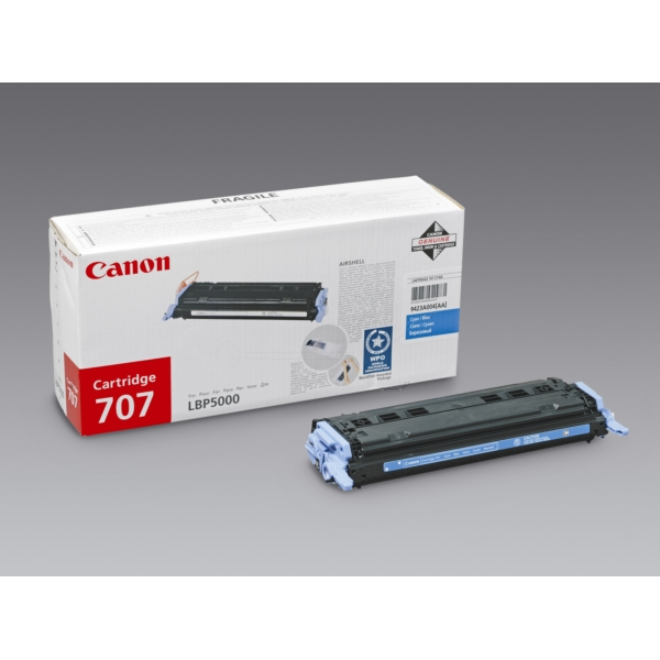 Original Canon 9423A004 / 707C Toner cyan