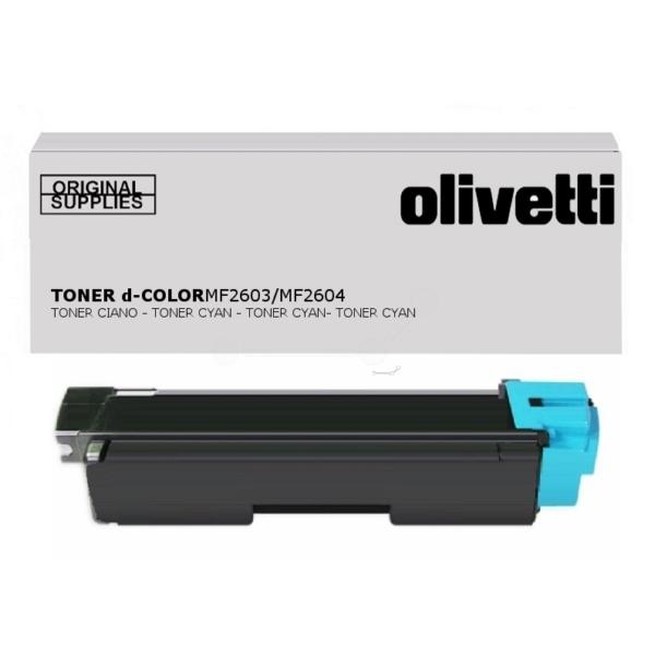 Original Olivetti B0947 Toner cyan