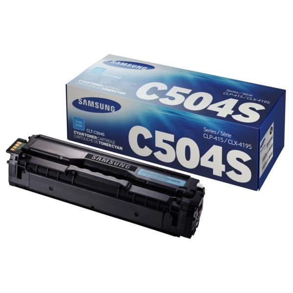 Original Samsung CLTC504SELS / C504 Toner cyan