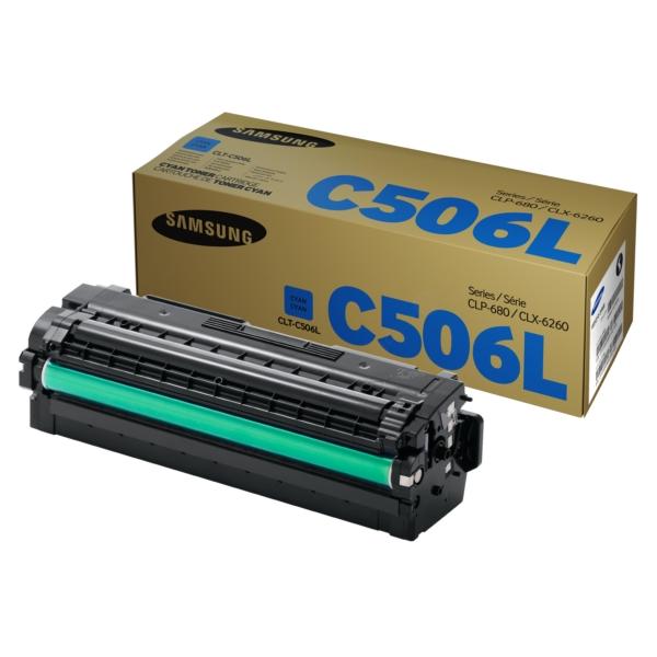 Original Samsung CLTC506LELS / C506L Toner cyan