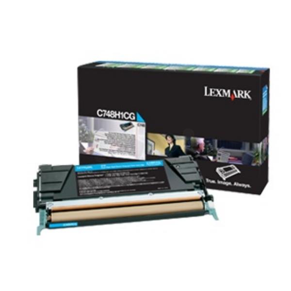 Original Lexmark C748H3CG Toner cyan