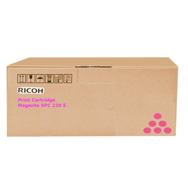 Original Ricoh 406099 / TYPESPC220E Toner magenta