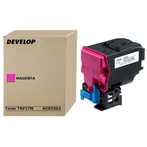 Original Develop A0X53D4 / TNP27M Toner magenta