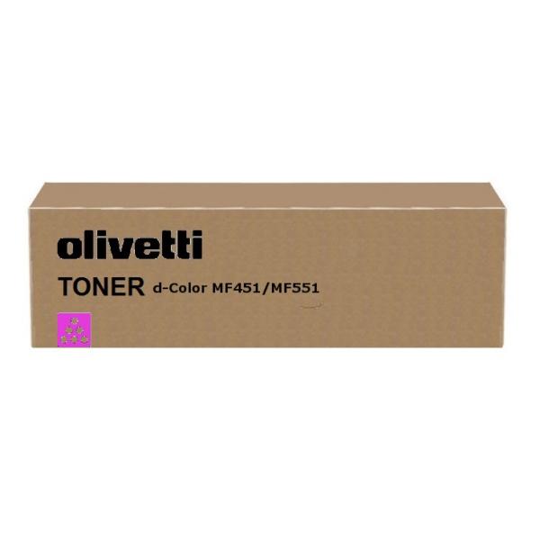Original Olivetti B0820 Toner magenta