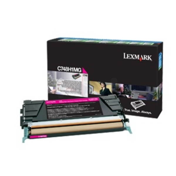 Original Lexmark C748H3MG Toner magenta