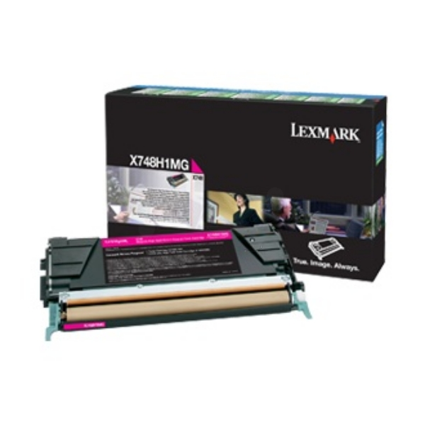 Original Lexmark X748H3MG Toner magenta