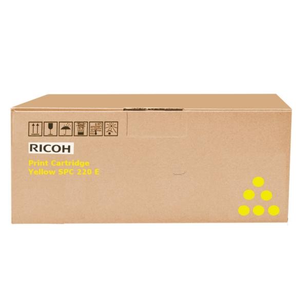 Original Ricoh 406106 / TYPESPC220E Toner gelb