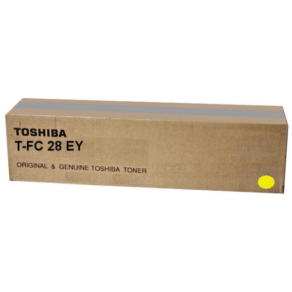 Original Toshiba 6AJ00000049 / TFC28EY Toner gelb