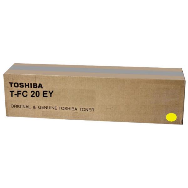Original Toshiba 6AJ00000070 / TFC20EY Toner gelb