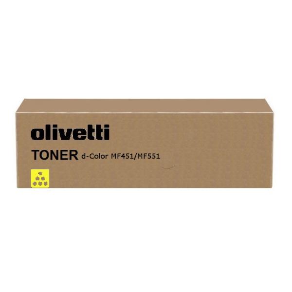 Original Olivetti B0819 Toner gelb