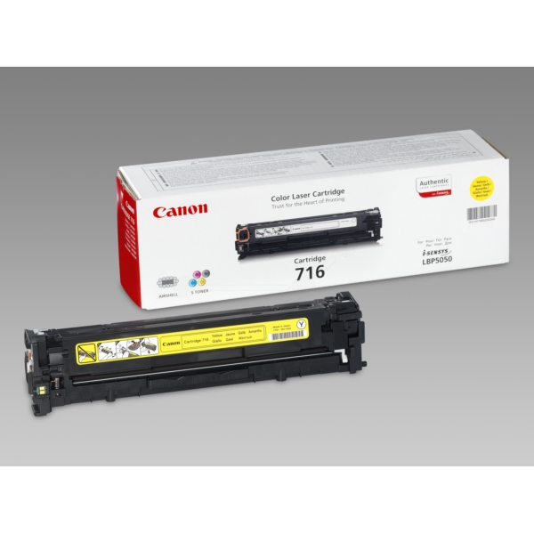 Original Canon 1977B002 / 716Y Toner yellow