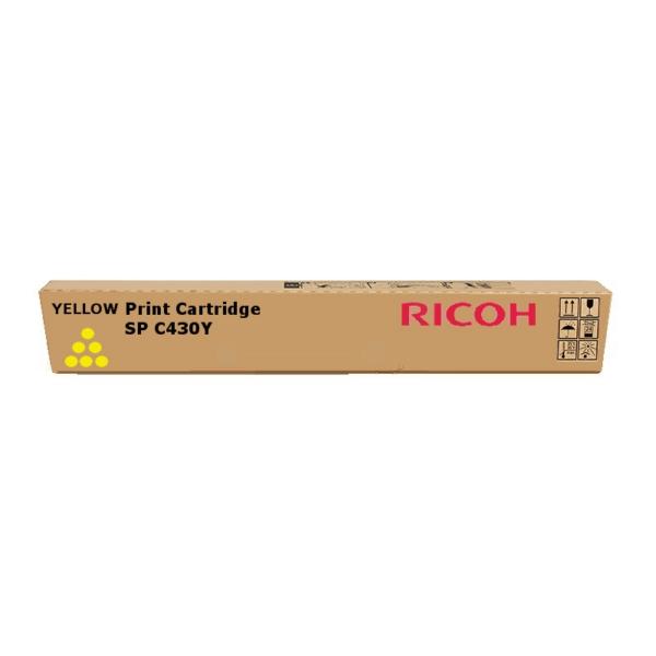 Original Ricoh 821075 / TYPESPC430E Toner gelb