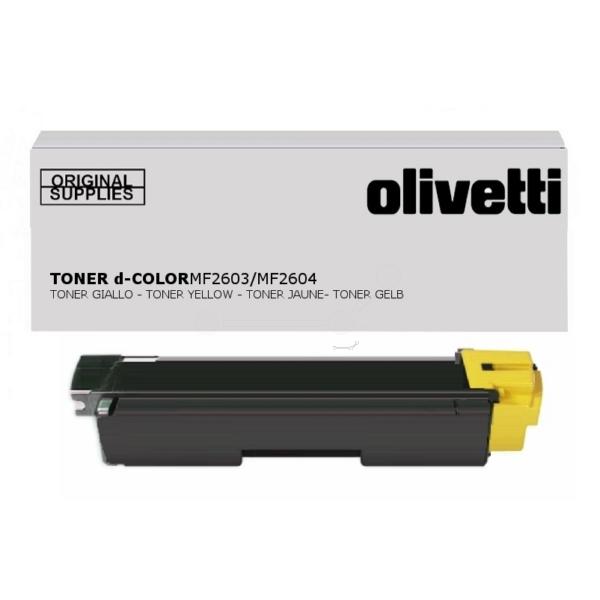 Original Olivetti B0949 Toner gelb