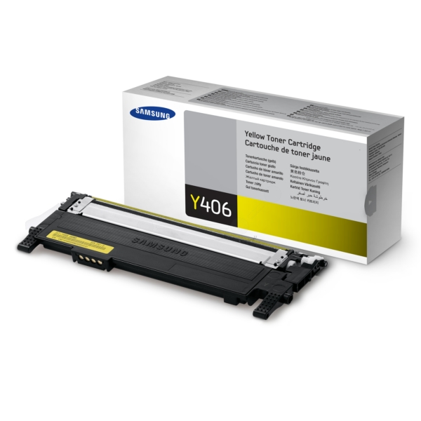 Oryginalny Samsung CLTY406SELS / Y406 Toner zólty
