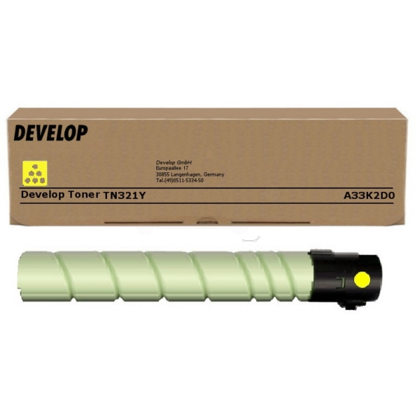 Original Develop A33K2D0 / TN321Y Toner gelb