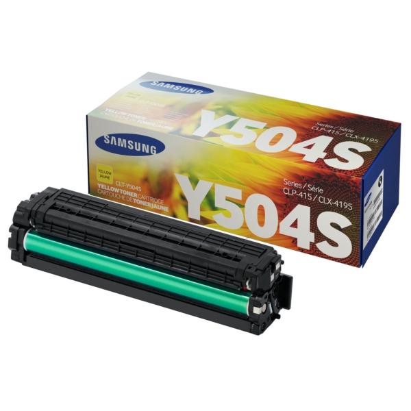 Original Samsung CLTY504SELS / Y504 Toner gelb