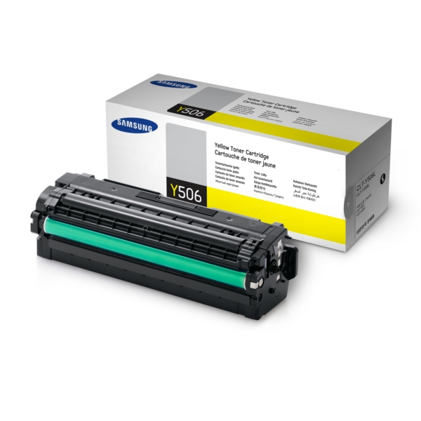 Oryginalny Samsung CLTY506SELS / Y506 Toner zólty