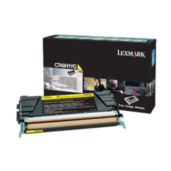 Original Lexmark C748H3YG Toner gelb