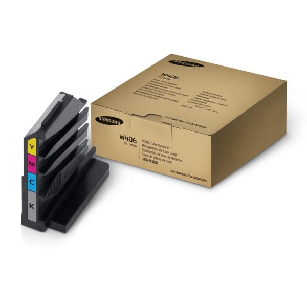 Original Samsung CLTW406SEE / W406 Resttonerbehälter