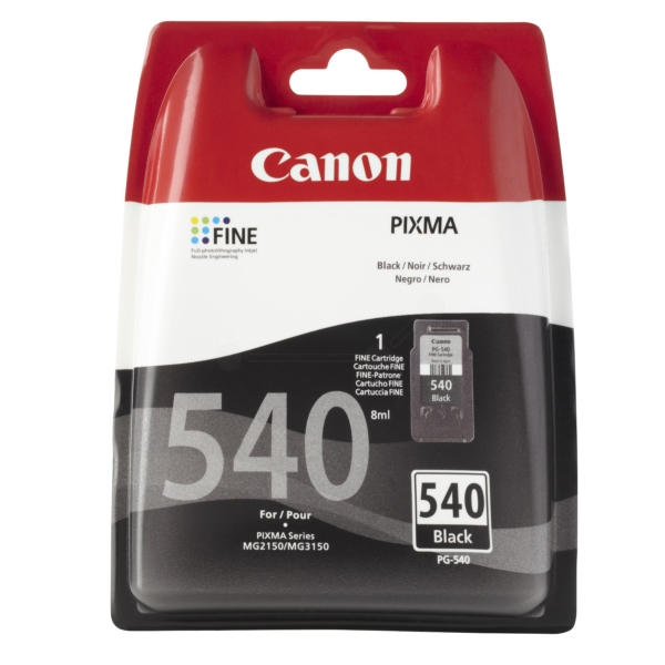 Original Canon 5225B005 / PG540 Tête d'impression noire