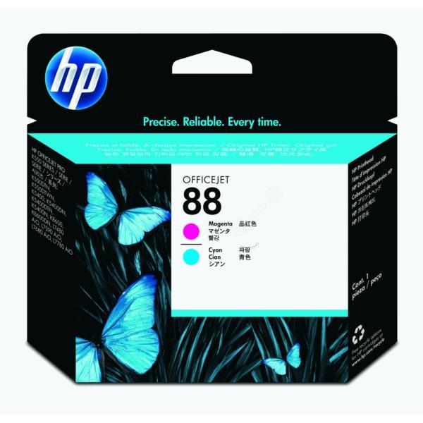 Original HP C9382A / 88 Printhead cyan