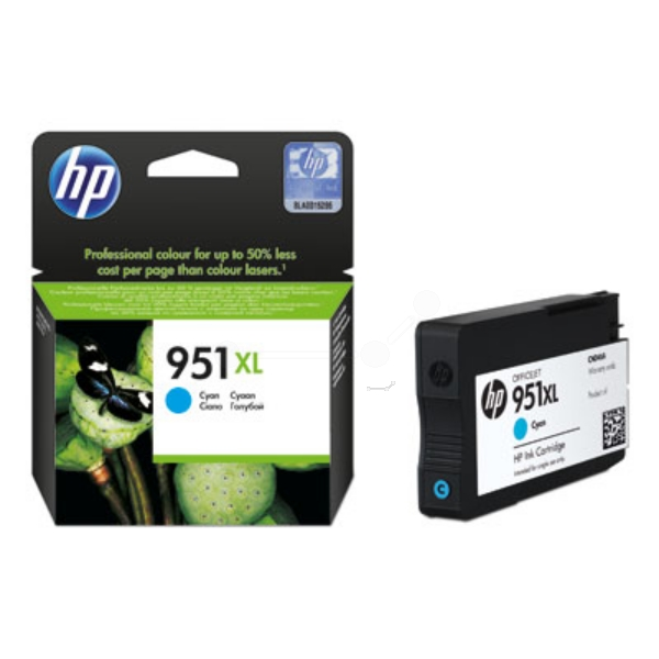 Original HP CN046AE / 951XL Ink cartridge cyan