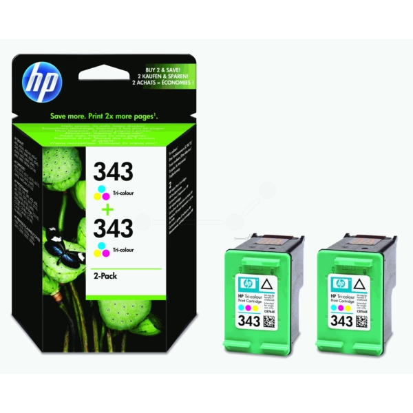 Original HP CB332EE / 343 Tête d'impression couleur